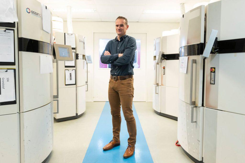 Erik van der Garde, CEO Oceanz 3D Printen