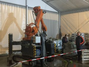 3D betonprinter in Teuge