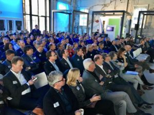 Publiek tijdens het ACT Event op 7 februari