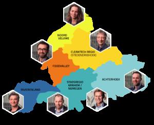 RCT-regio's met makelaars
