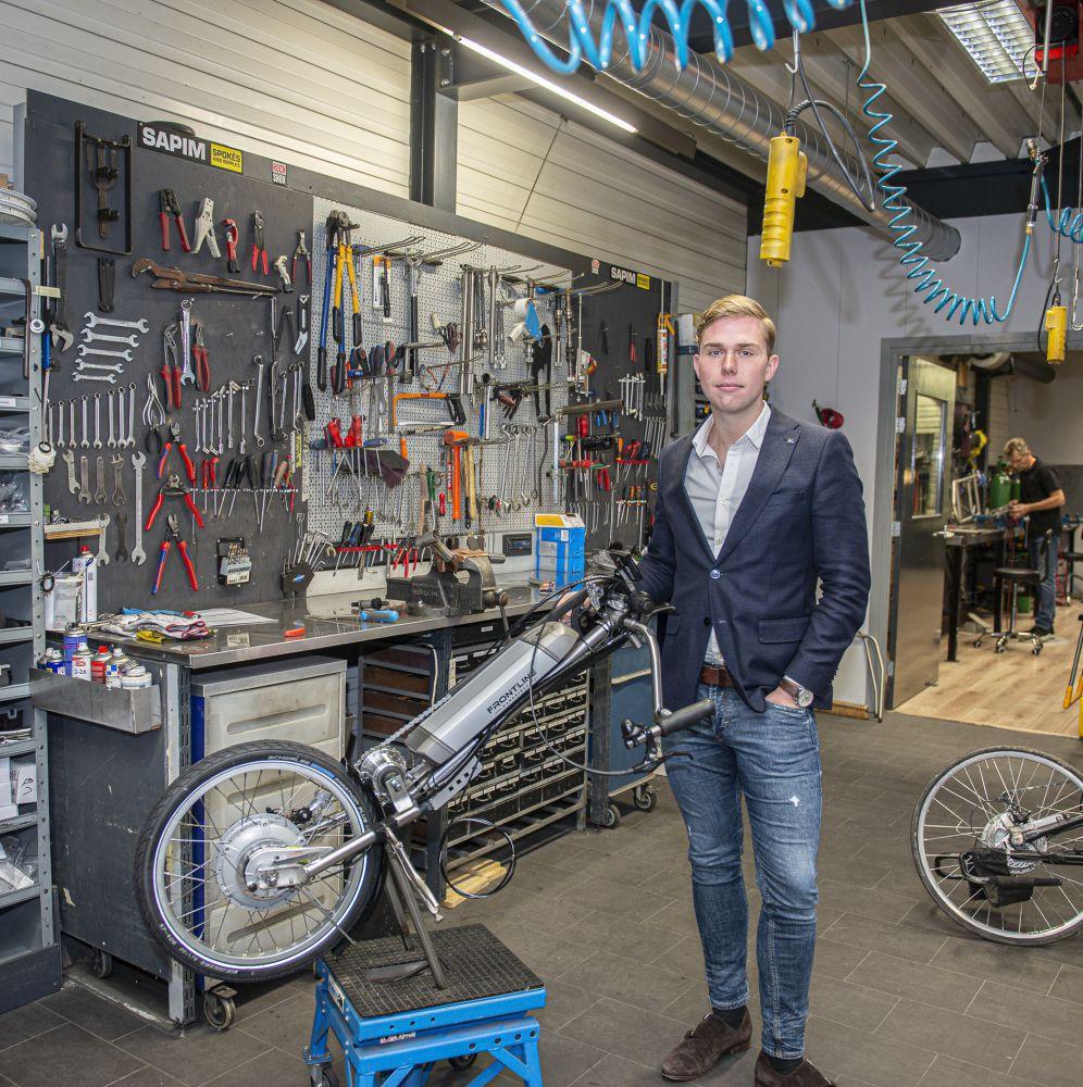 Frontline handbikes - Jesse Wilbrink Foto Fokke P. de Boer