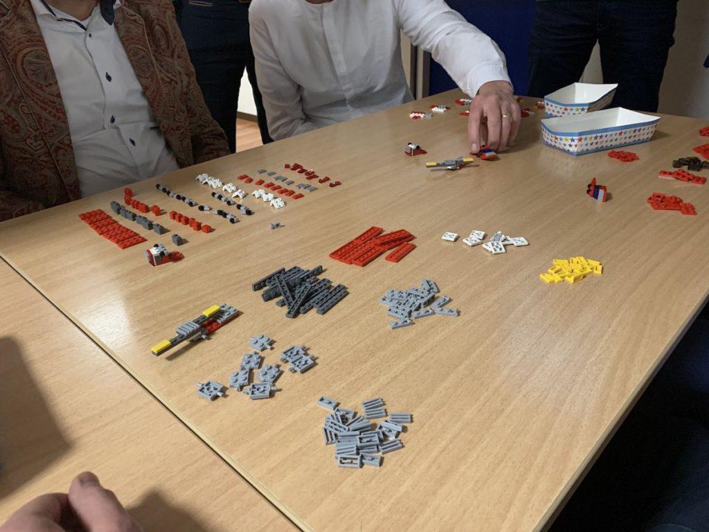 Van LEGO naar productieproces