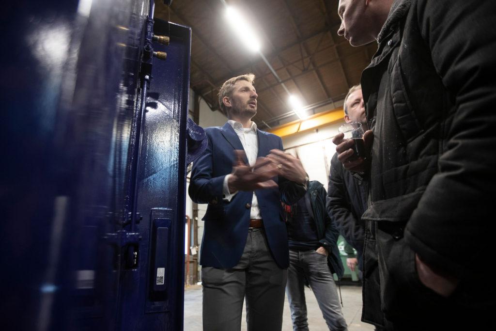 Presentatie ConTracker bij Kisjes in Apeldoorn. Foto Patrick van Gemert/Zutphens Persbureau
