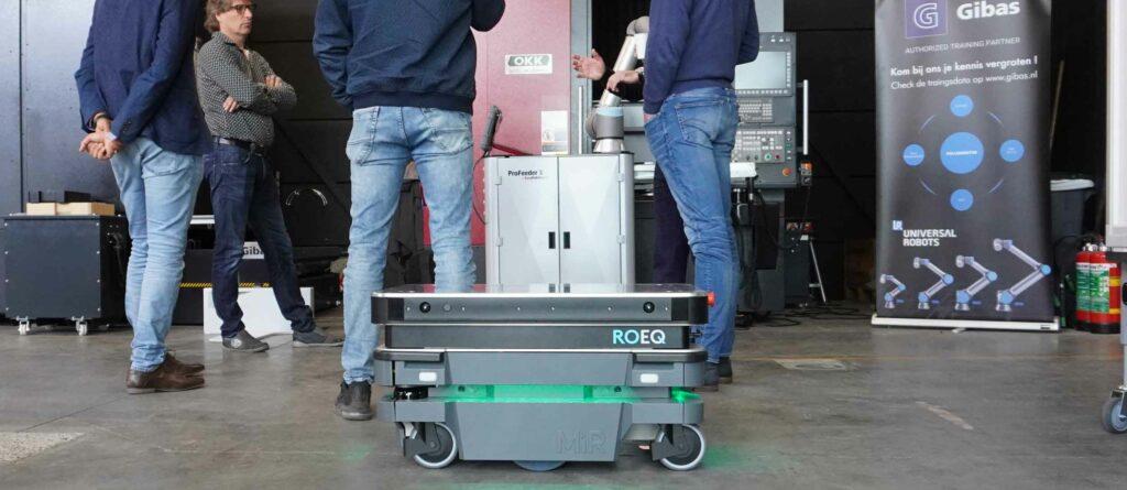 Gibas trainingscentrum robot